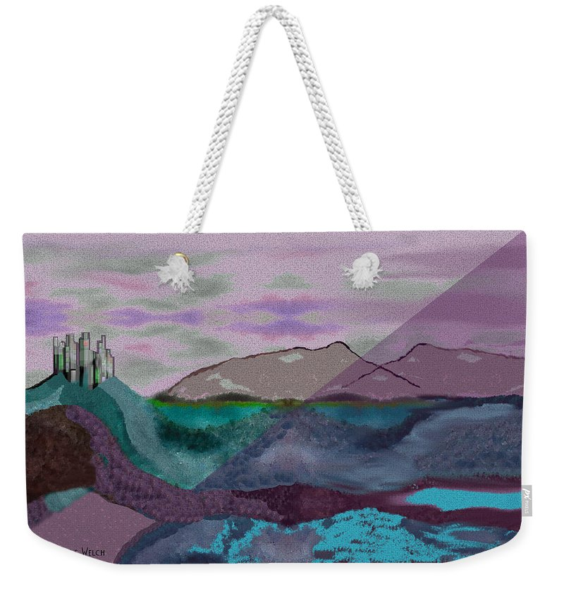 Gimp Digital Art Weekender Tote Bags