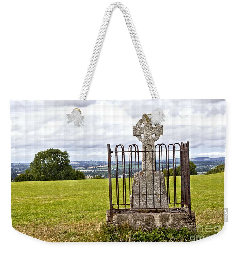Ireland Digital Photography Weekender Tote Bag featuring the digital art Hill Of Tara by Danielle Summa