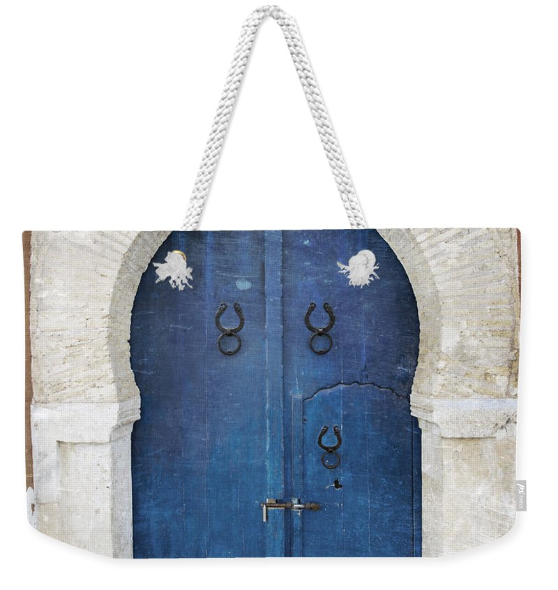 Door Weekender Tote Bag featuring the photograph Old Door by Paul Fell