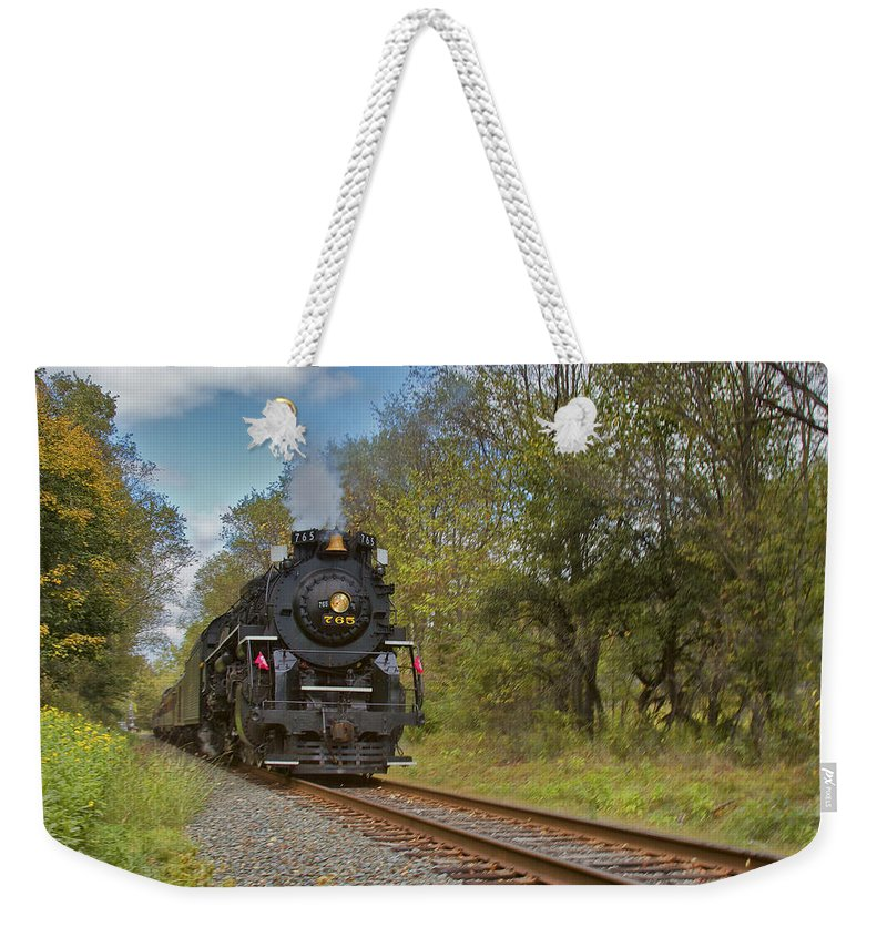 765 Weekender Tote Bag featuring the photograph 765 by Jack R Perry