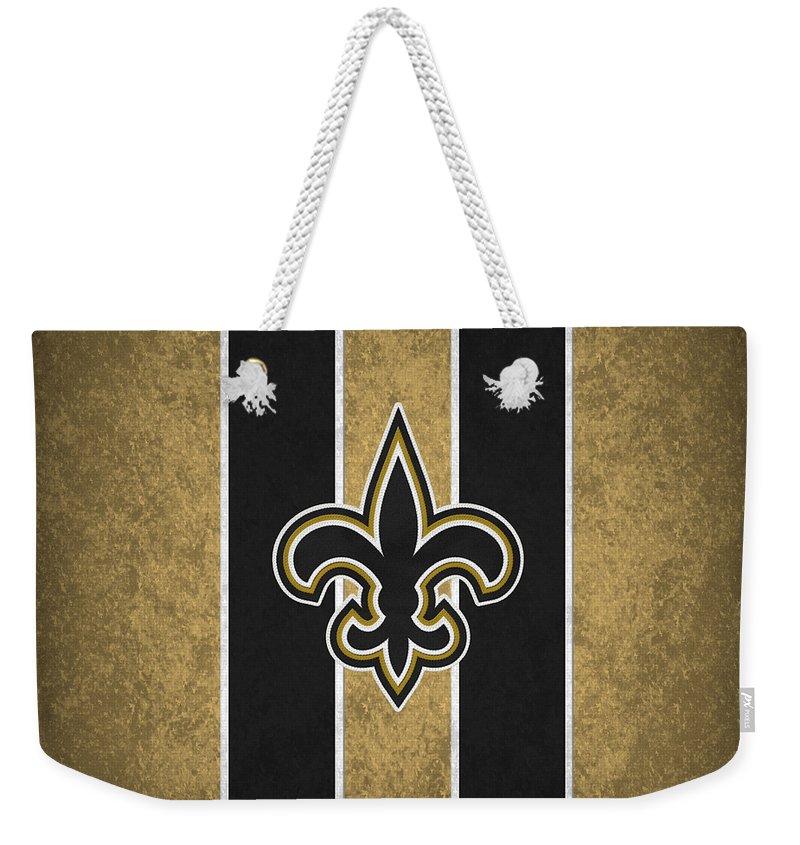 san francisco 8abae 8b4e6 New Orleans Saints Weekender Tote Bag