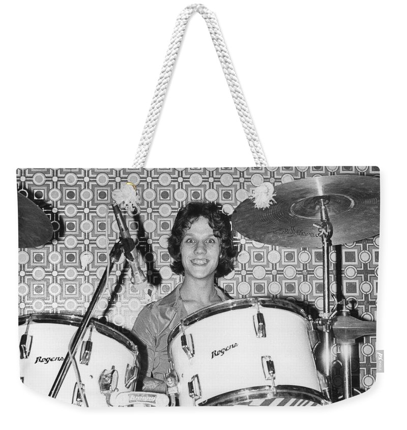 Steve Weekender Tote Bag featuring the photograph The Boyfriends by David Fowler