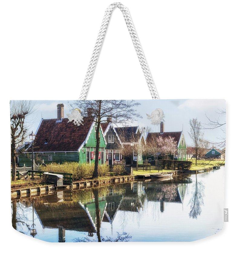 Zaanse Schans Weekender Tote Bag featuring the photograph Zaanse Schans by Joana Kruse