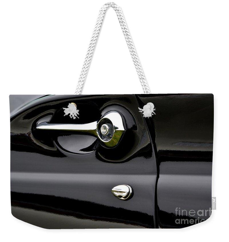 Thunderbird Weekender Tote Bag featuring the photograph Thunderbird Detail by Dean Ferreira