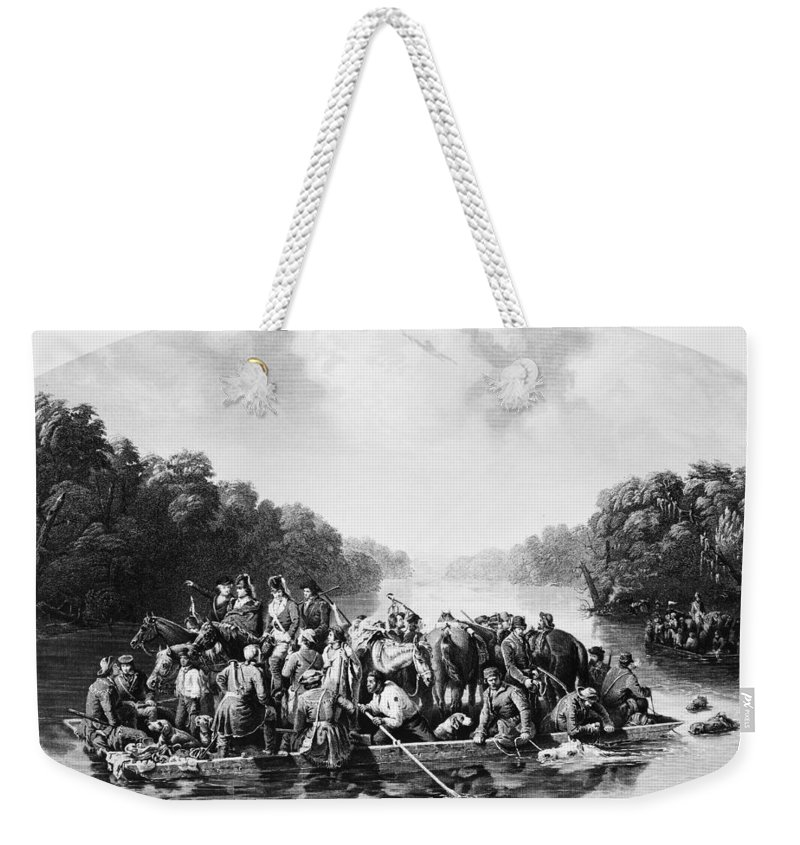 1780 Weekender Tote Bag featuring the photograph Francis Marion (1732?-1795) by Granger