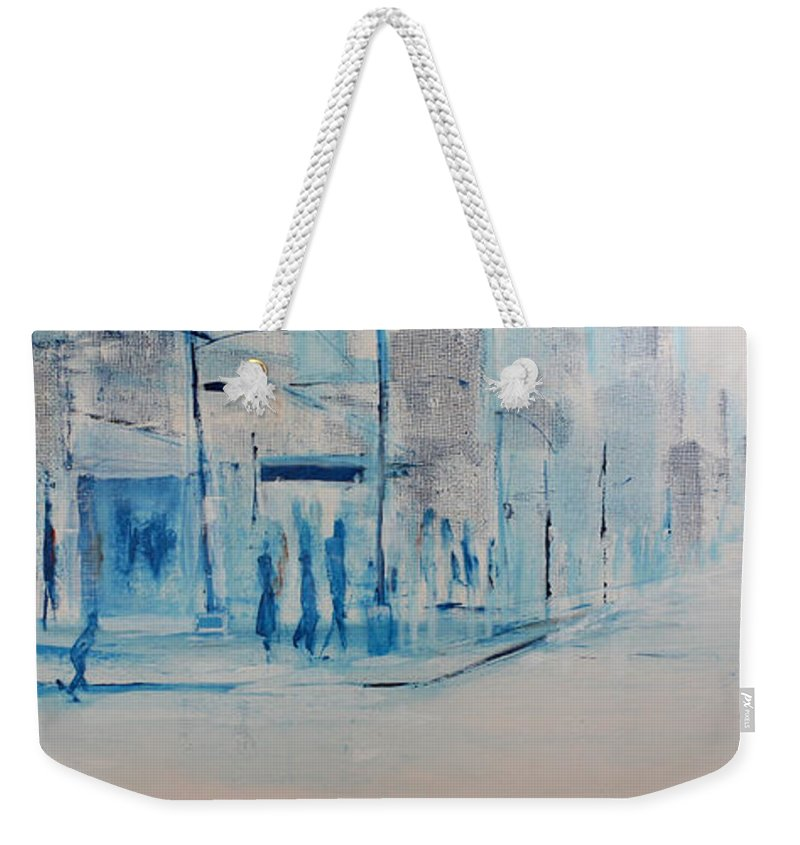Jack Weekender Tote Bag featuring the painting 95 In The Shade by Jack Diamond