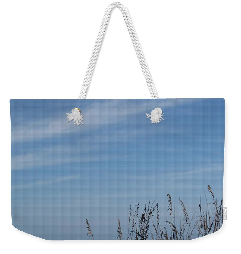 Beach Weekender Tote Bag featuring the photograph A Beautiful Day At A Florida Beach by Christiane Schulze Art And Photography