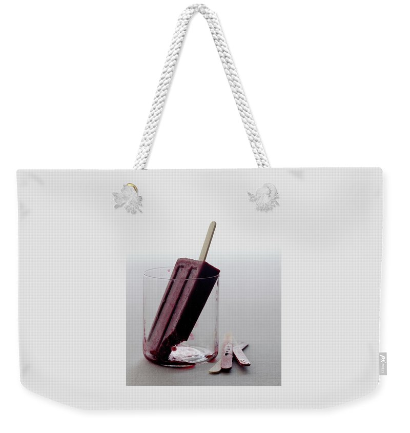 d550fc850d6 A Blueberry Lime Popsicle Weekender Tote Bag for Sale by Romulo Yanes