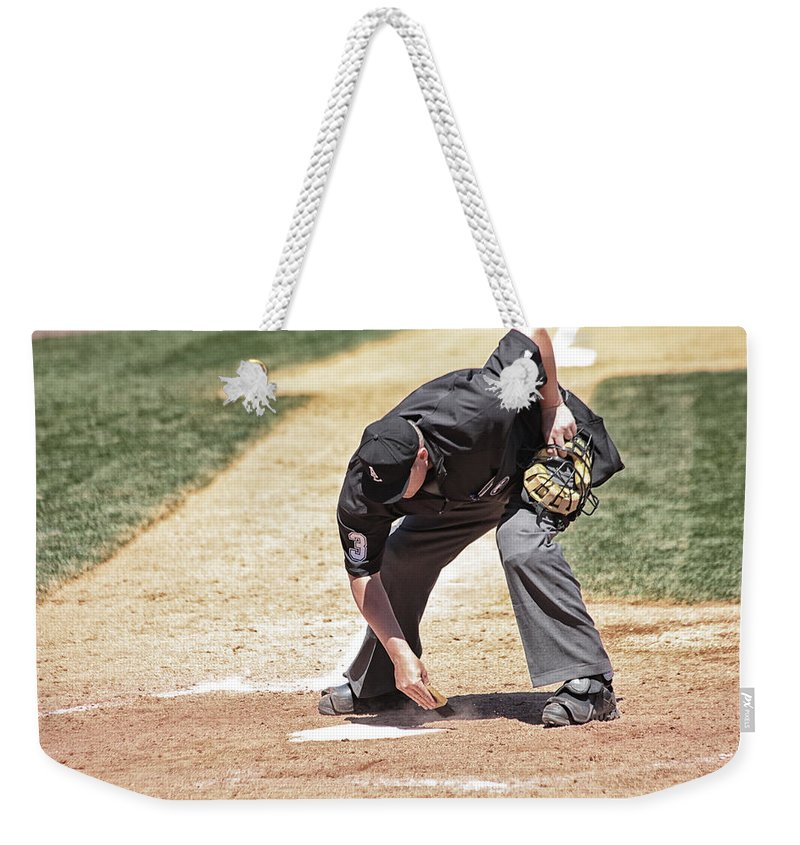 Sports Weekender Tote Bag featuring the photograph A Clean Home by Karol Livote