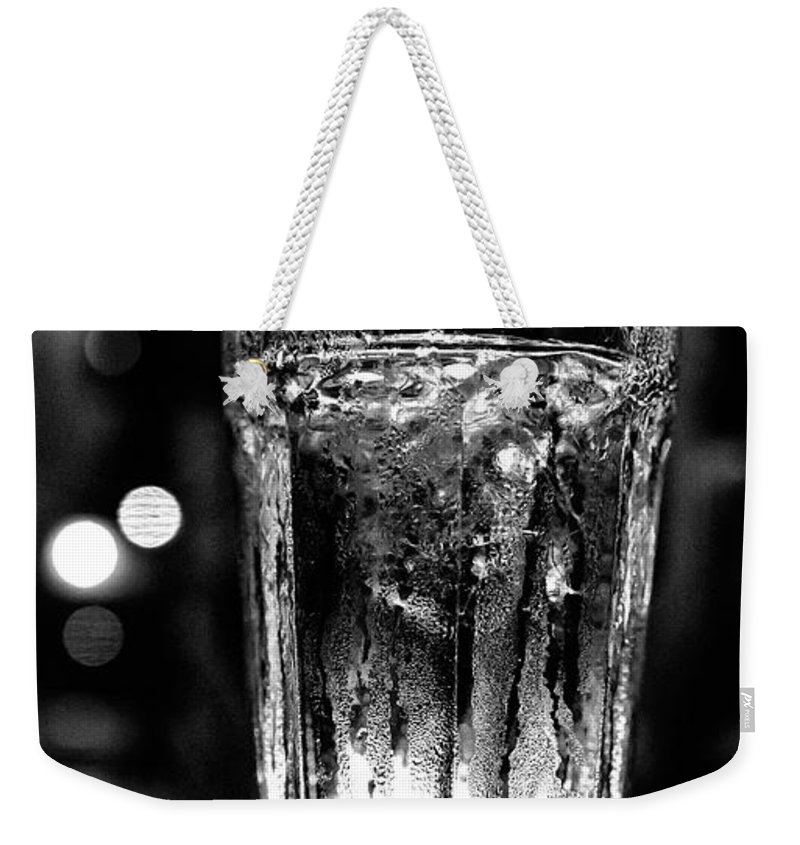 Christopher Holmes Photography Weekender Tote Bag featuring the photograph A Cool One Bw by Christopher Holmes