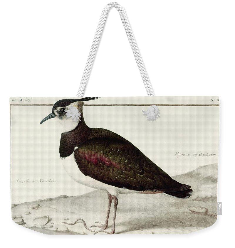 Lapwing Weekender Tote Bags