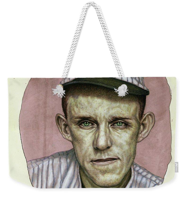 Vintage Chicago Paintings Weekender Tote Bags