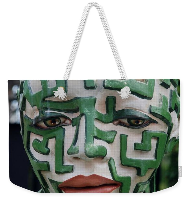 Maze Weekender Tote Bag featuring the photograph A Maze Ing Man 3 by Rob Hans