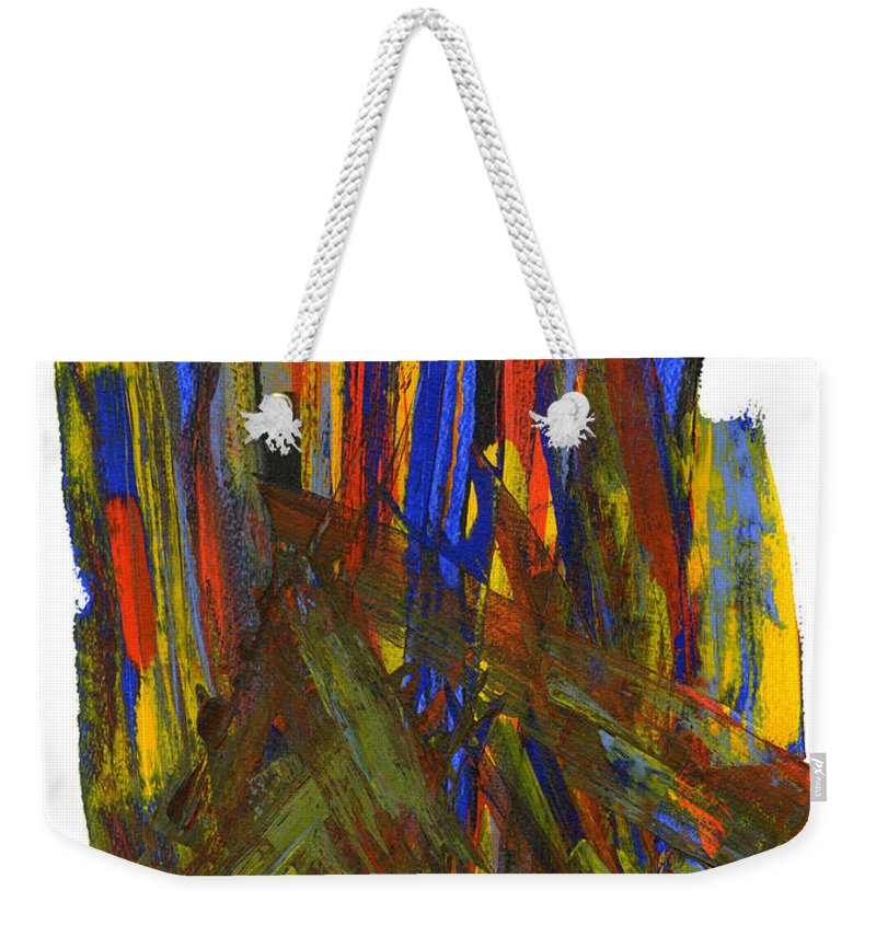 New Life Weekender Tote Bag featuring the painting A New Beginning by Bjorn Sjogren