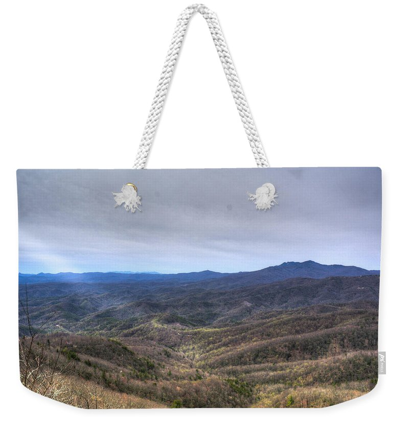 Ray Weekender Tote Bag featuring the photograph A Ray Of Light 1 by Douglas Barnett