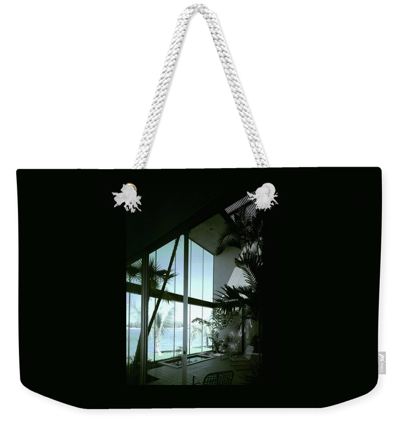 A Screened Patio Weekender Tote Bag