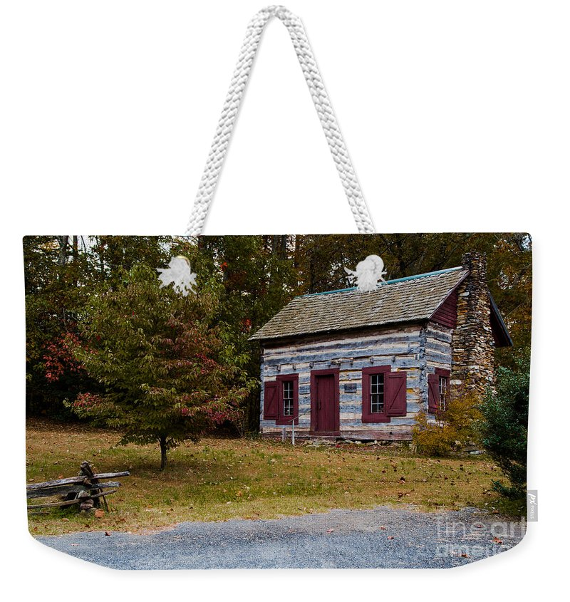 Old Weekender Tote Bag featuring the photograph A Simpler Time by Scott Hervieux