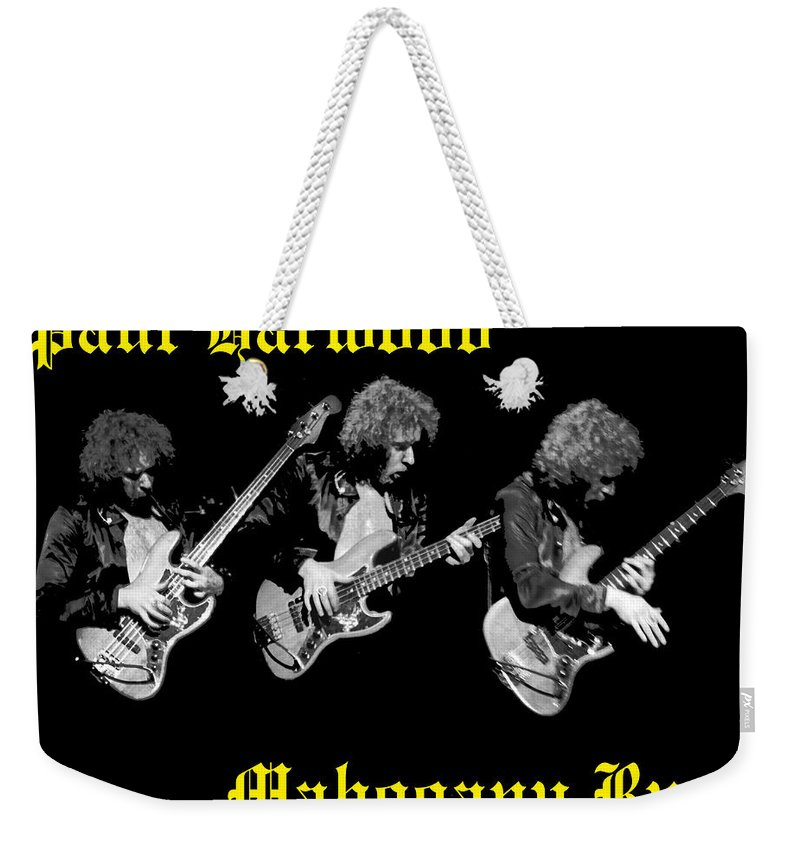 Paul Harwood Weekender Tote Bag featuring the photograph A Trinity Of Harwood by Ben Upham