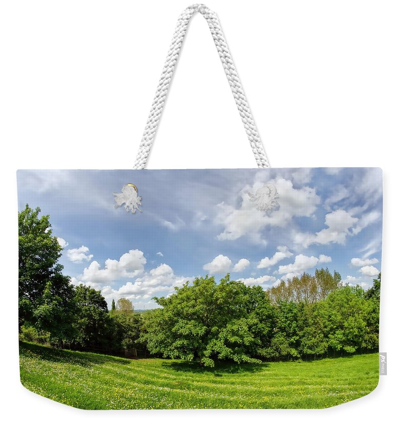 Burrow-mump Weekender Tote Bag featuring the photograph A View From Burrow Mump by Susie Peek