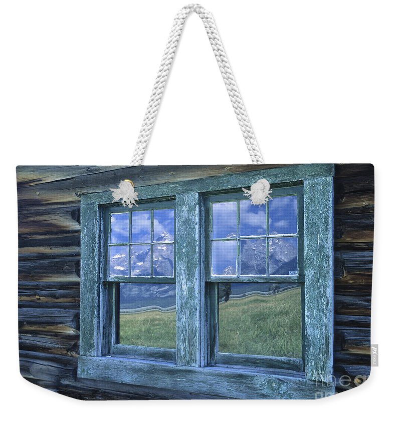 Grand Teton Weekender Tote Bag featuring the photograph A View To The Tetons by Sandra Bronstein