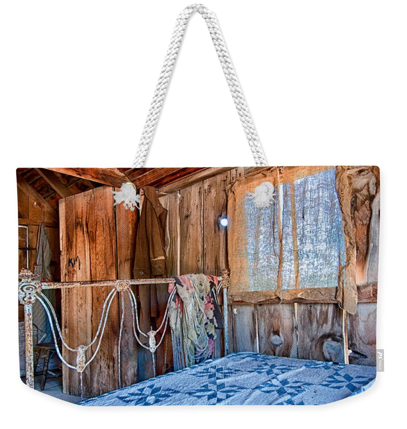 Old Weekender Tote Bag featuring the photograph A Well Deserved Rest by Cat Connor