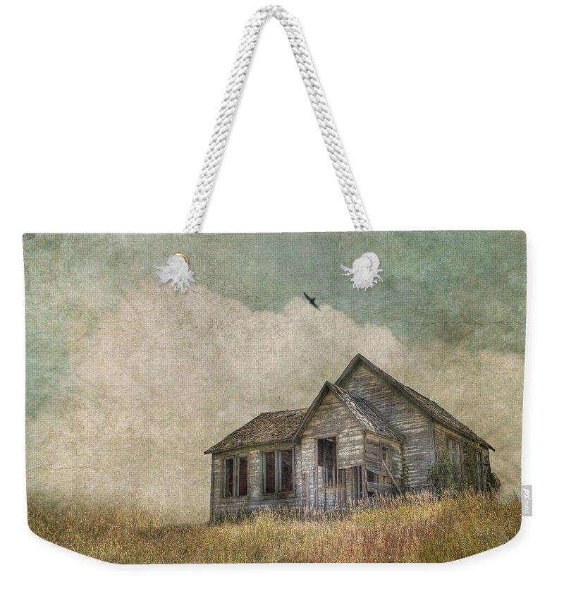 Abandoned House Weekender Tote Bags