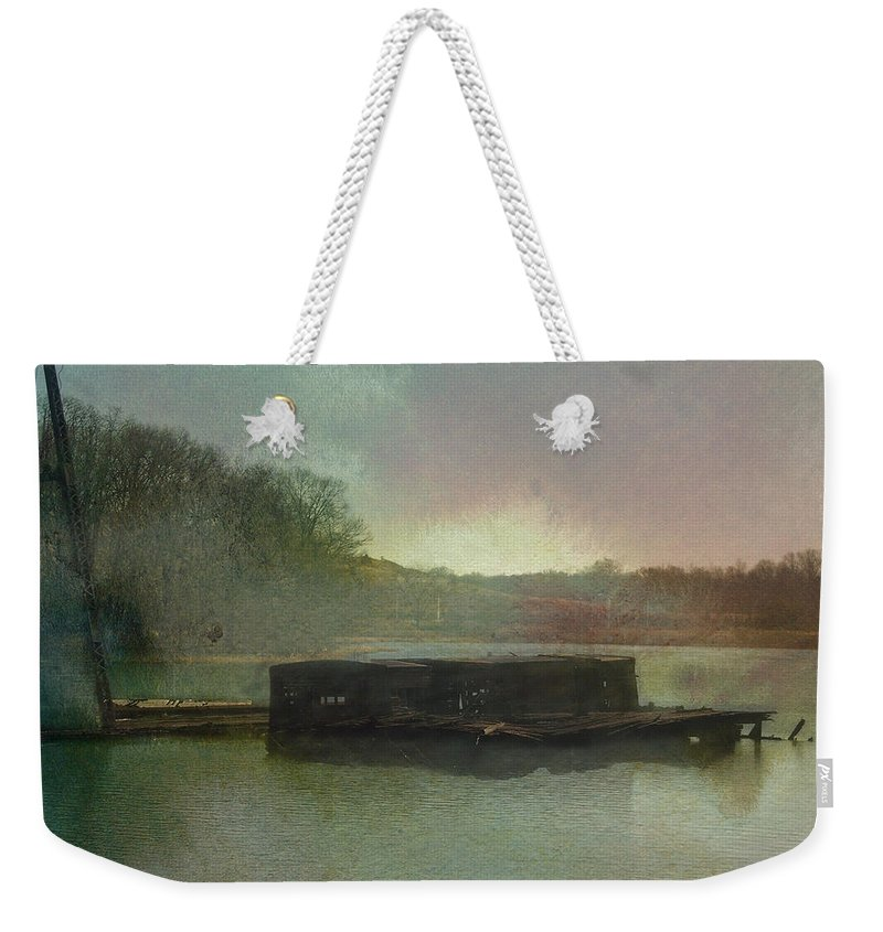 Wright Weekender Tote Bag featuring the photograph Abandoned by Paulette B Wright