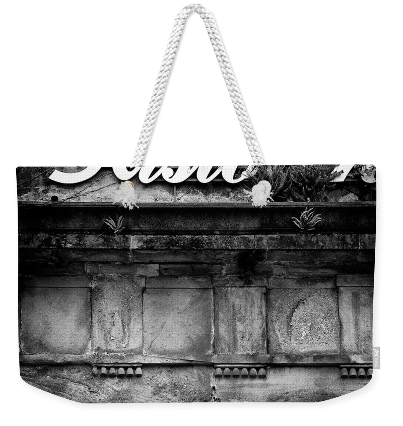 Abandoned Restaurant Weekender Tote Bag featuring the photograph Abandoned Restaurant by Dave Bowman