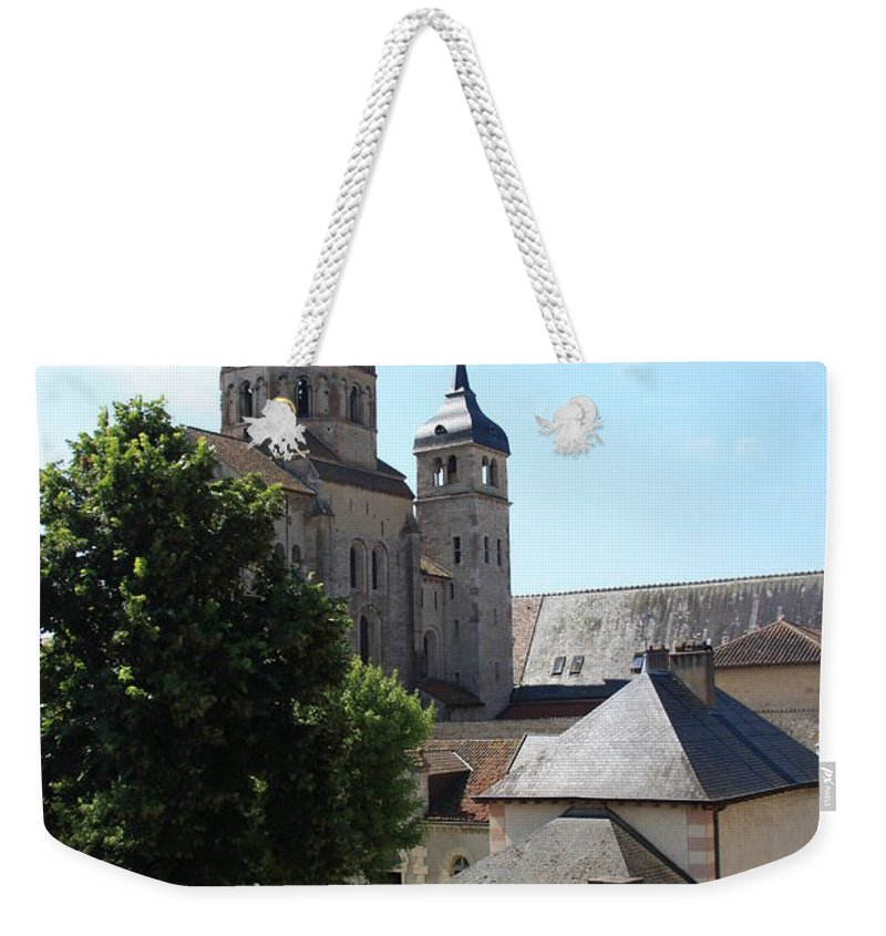 Minster Weekender Tote Bag featuring the photograph Abbey Cluny by Christiane Schulze Art And Photography
