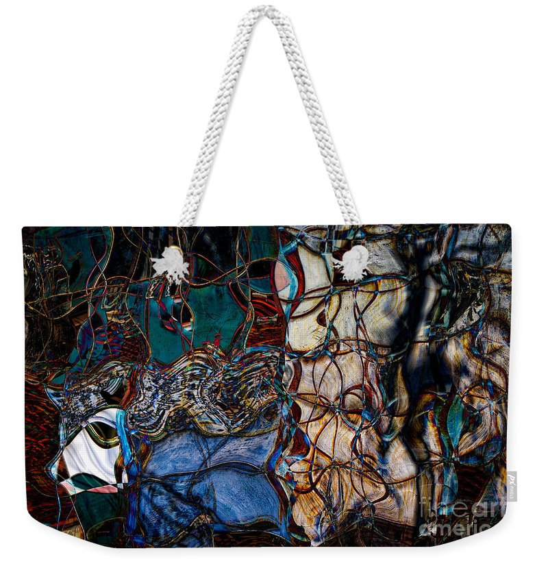 Weekender Tote Bag featuring the photograph Abstract 1785 by Doug Sturgess