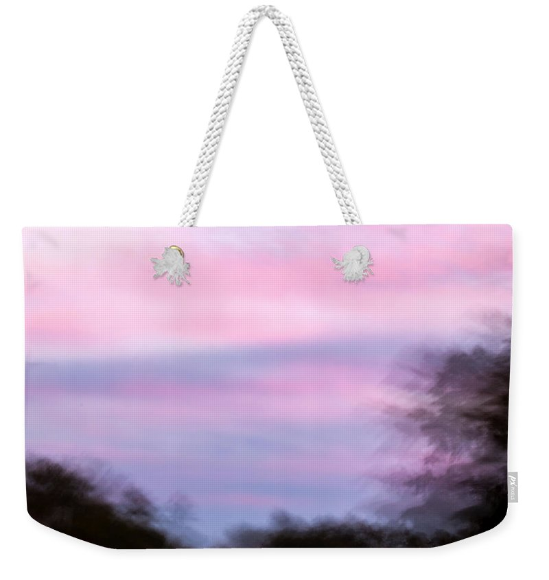 Abstract Weekender Tote Bag featuring the photograph Abstract-2 by Charles Hite