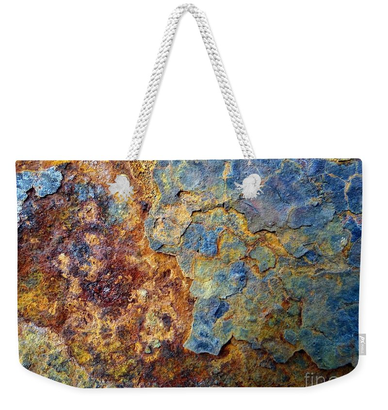 Abstract Weekender Tote Bag featuring the photograph Abstract 8 by Ed Weidman