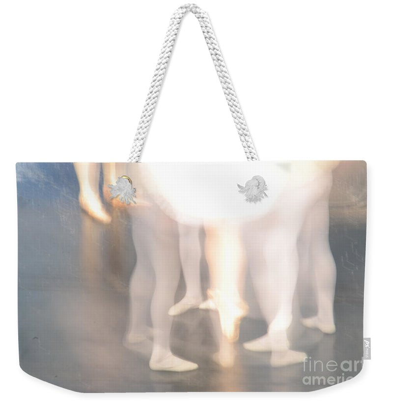 Abstract Weekender Tote Bag featuring the photograph Abstract Ballet by Randy J Heath