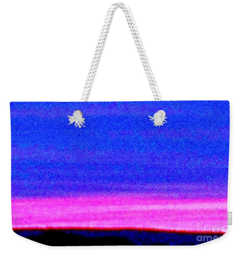 Abstract Weekender Tote Bag featuring the photograph Abstract Landscape by Eric Schiabor
