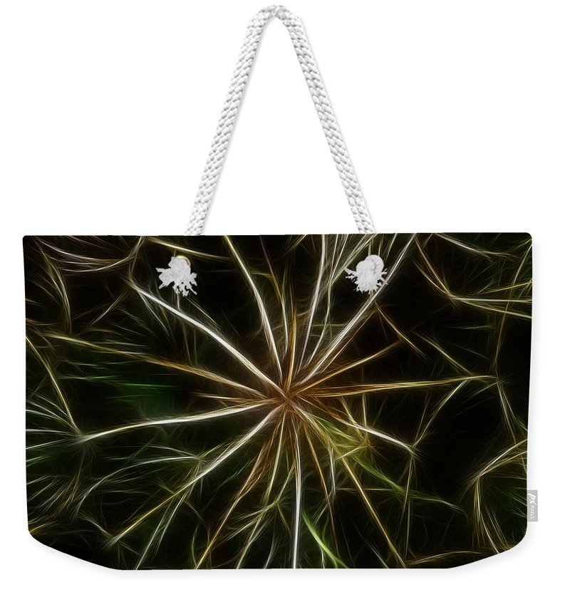 Abstract Weekender Tote Bag featuring the photograph Abstract Of Nature 2 by Vivian Christopher