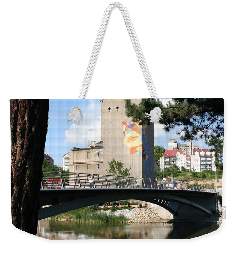 Bunker Weekender Tote Bag featuring the photograph Across The River by Christiane Schulze Art And Photography