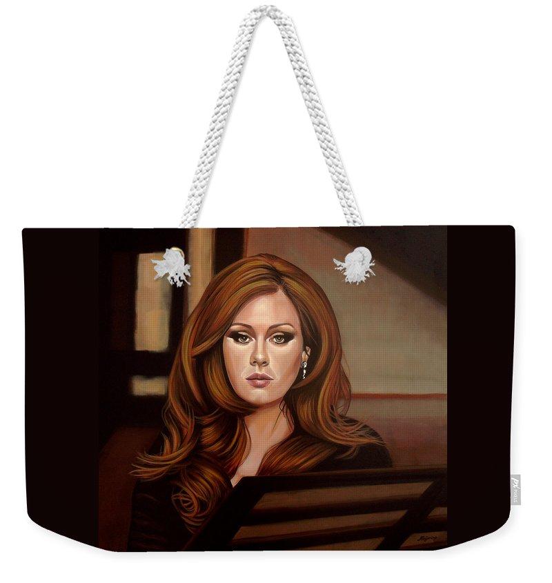 Adele Weekender Tote Bags