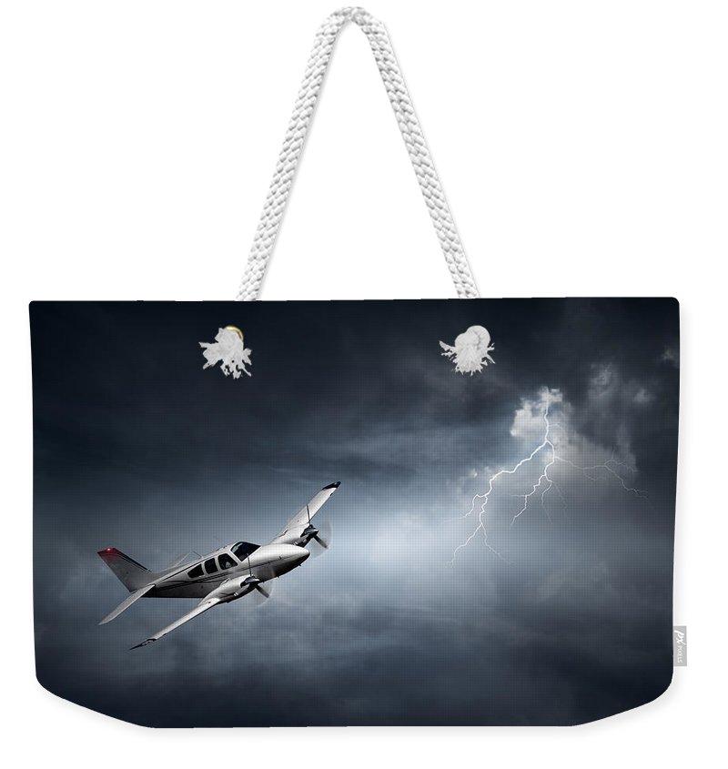 Crisis Weekender Tote Bags