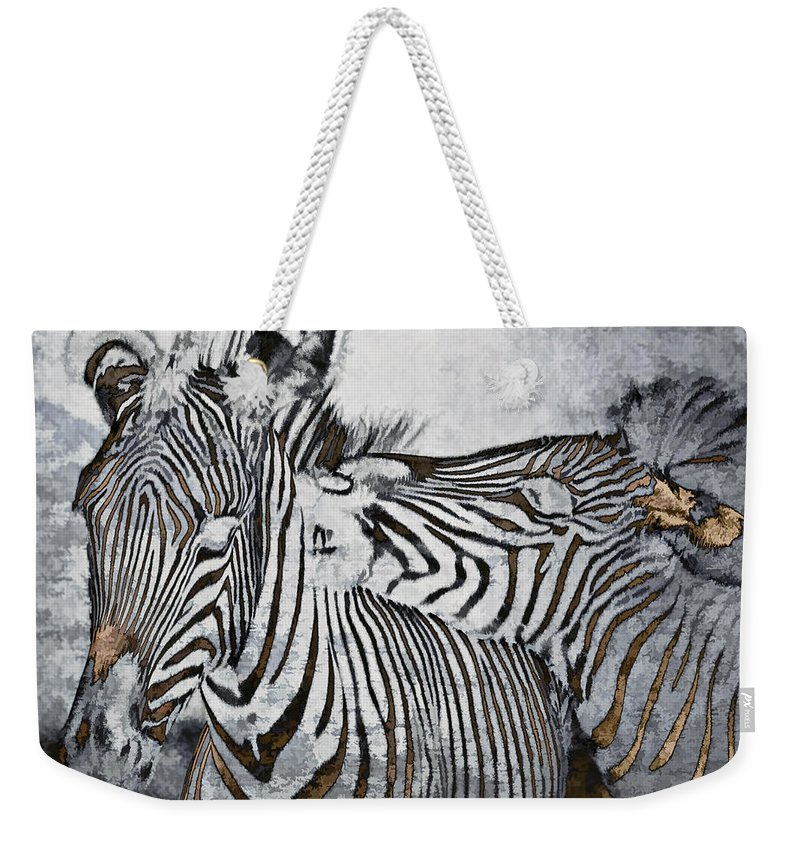 Animal Weekender Tote Bag featuring the photograph Affection by Marcia Colelli