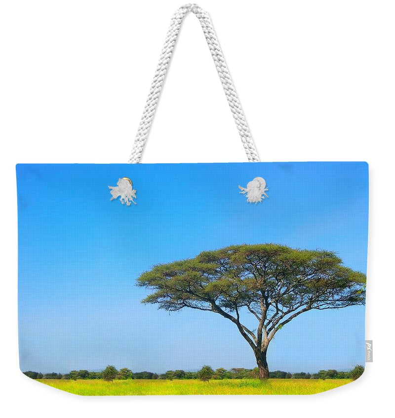 Africa Weekender Tote Bag featuring the photograph Africa by Sebastian Musial