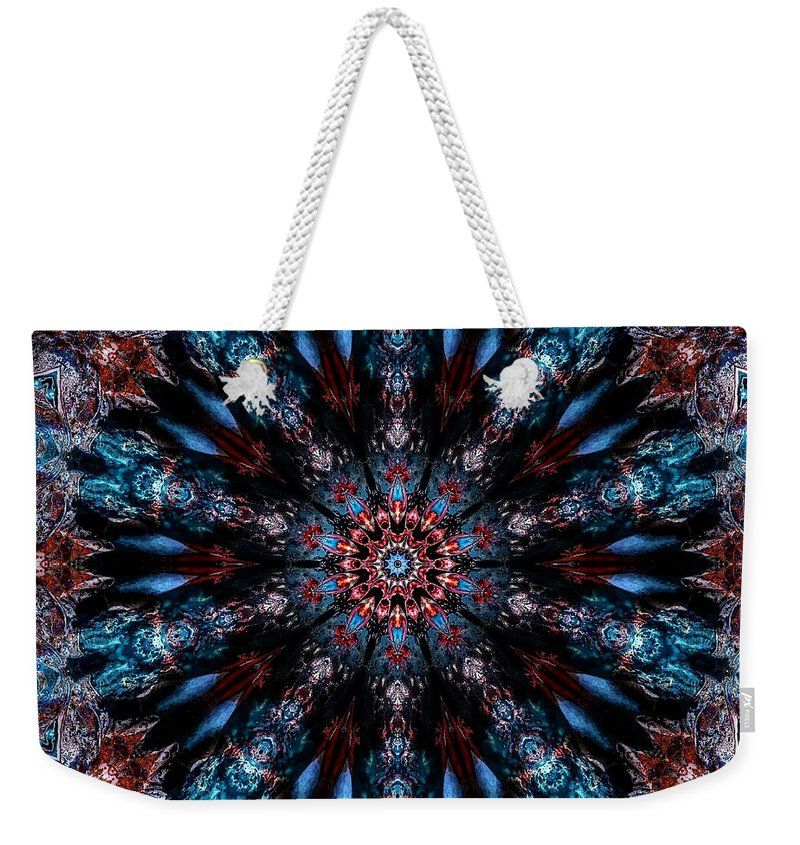 After Weekender Tote Bag featuring the digital art After Midnight by Michael Damiani
