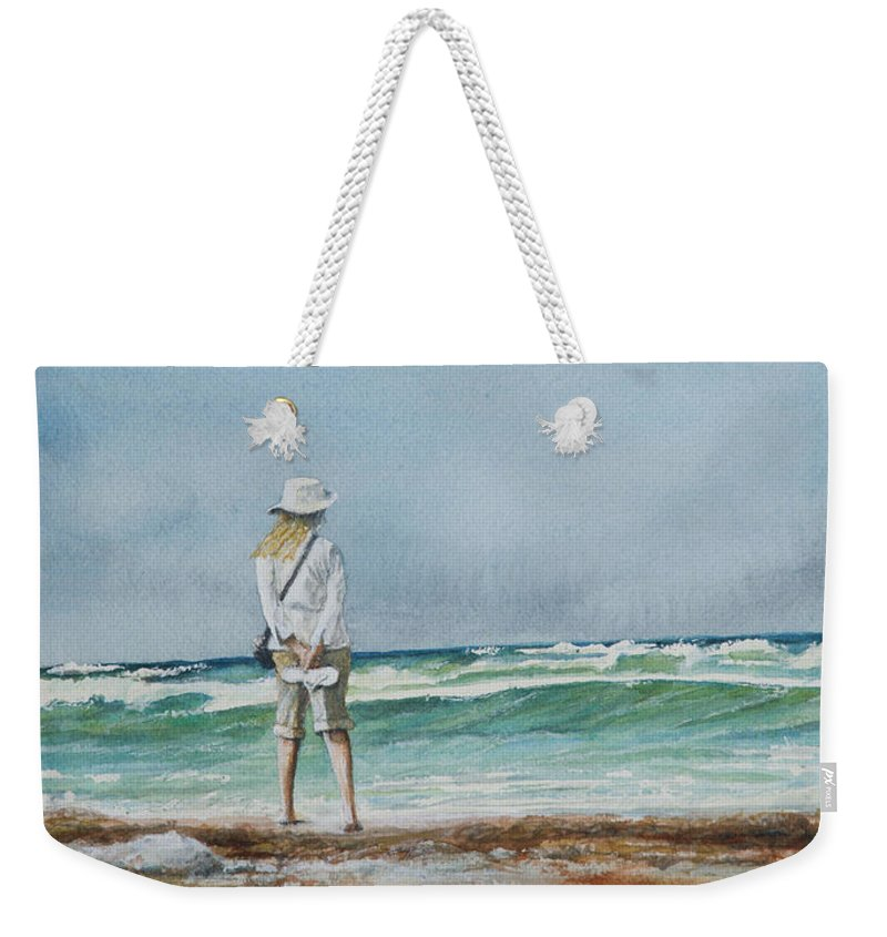 Landscape Weekender Tote Bag featuring the painting After The Storm by Arthur Fix
