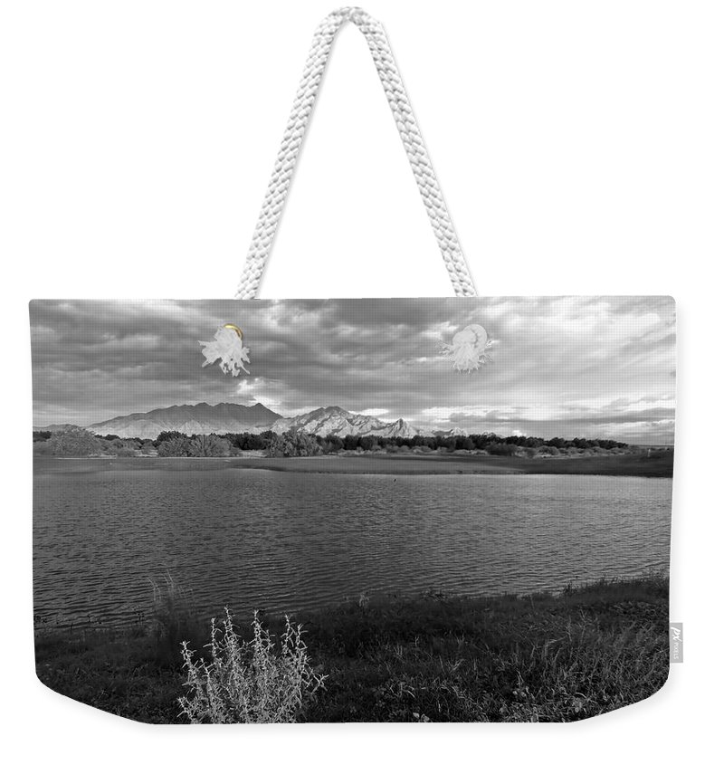 Monsoon Weekender Tote Bag featuring the photograph After The Storm by Lucinda Walter