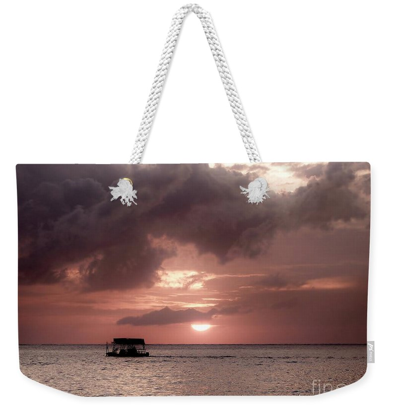 Color Weekender Tote Bag featuring the photograph Afternoon Delight by Amar Sheow