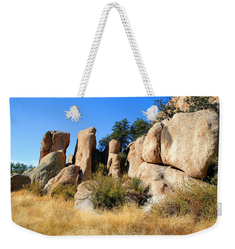 Canyon Weekender Tote Bag featuring the photograph Afternoon In The Canyon by Joe Kozlowski