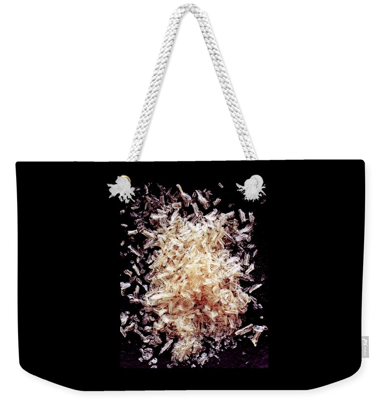 Cooking Weekender Tote Bag featuring the photograph Agar by Romulo Yanes