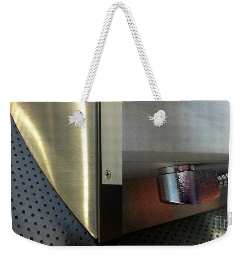 Diptych Weekender Tote Bag featuring the photograph Airport Diptych by Marlene Burns