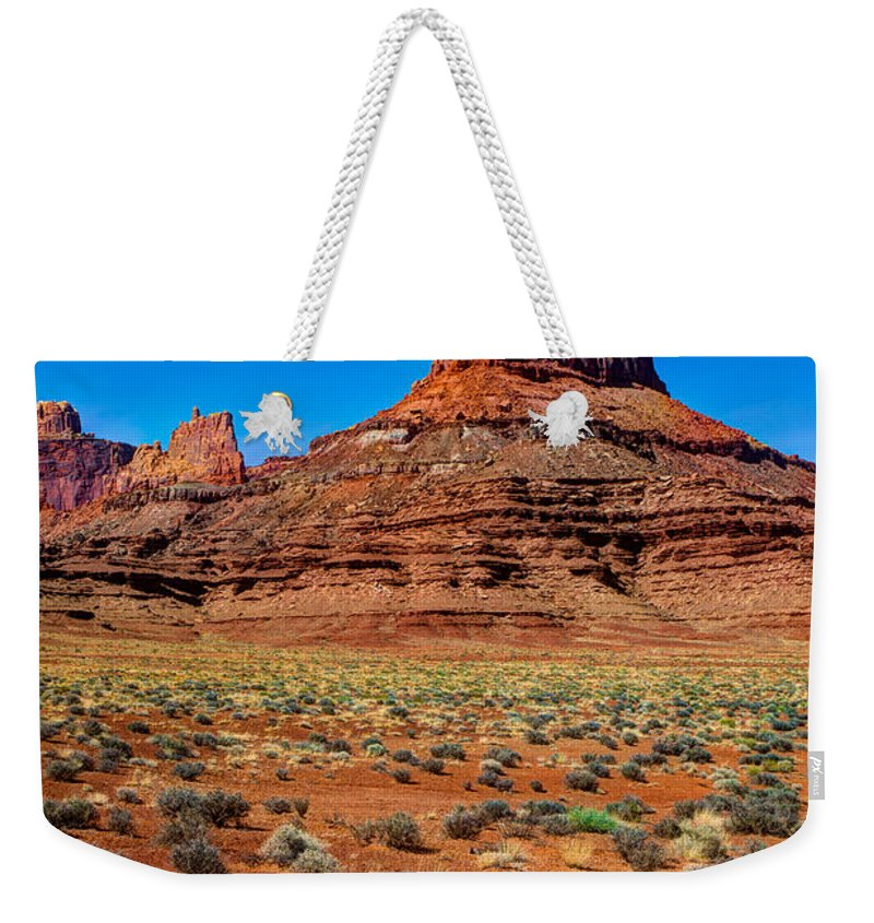 Airport Weekender Tote Bag featuring the photograph Airport Tower II by Chad Dutson