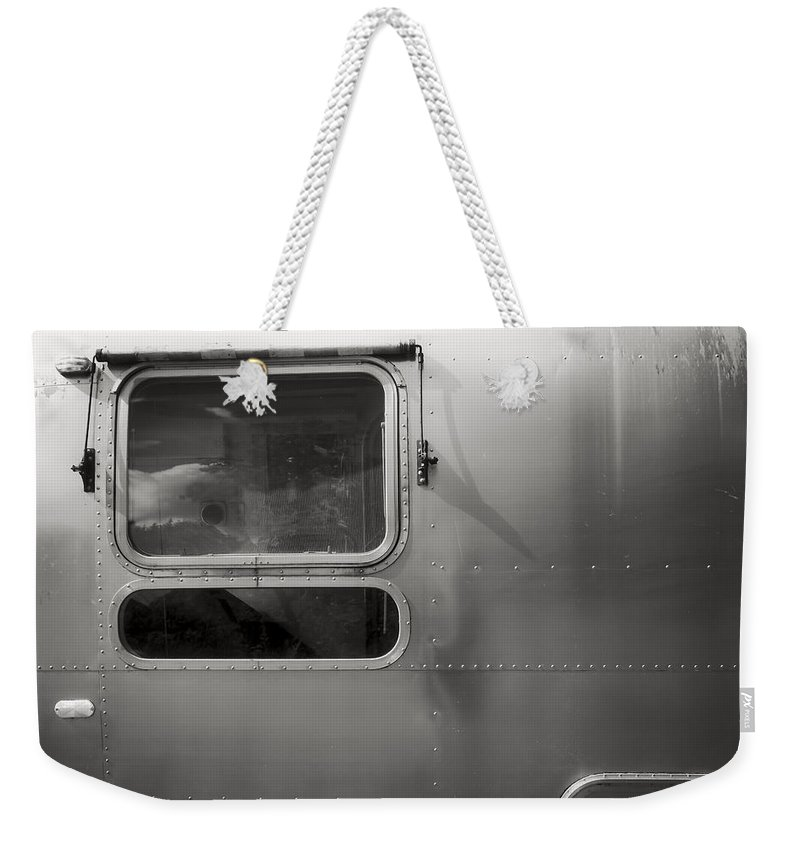 Nova Scotia Weekender Tote Bag featuring the photograph Airstream by David Stone