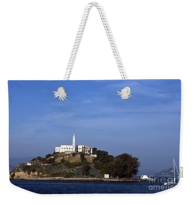 Alcatraz Weekender Tote Bag featuring the photograph Alcatraz by Jason O Watson